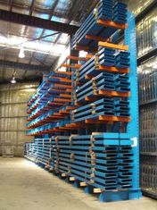 Heavy duty cantilever racking , high density selective racking system