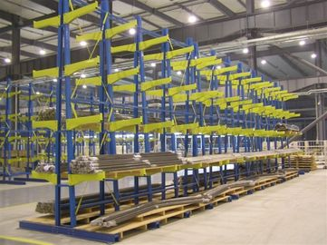 Metal structural Cantilever Racking Systems timber furniture pipe tubes stock