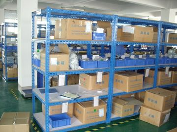 Corrosion - protection light duty shelving with chipboard , case flow rack