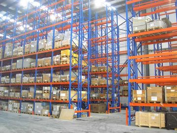 1000kg conventional double deep pallet racking system industrial shelving rack