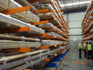 Industral Cantilever Shelving Systems Cargo Stock for Storage